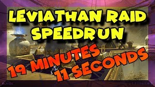 Leviathan Raid Speedrun World Record {19:11}