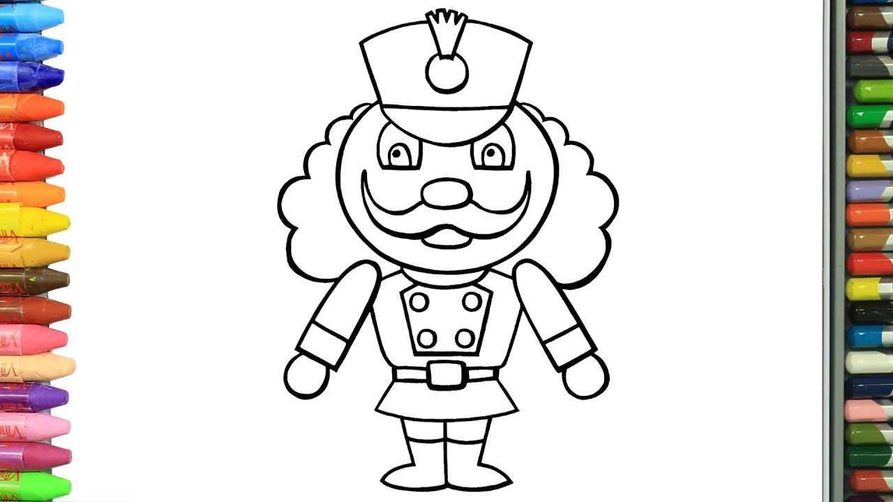 Cómo Dibujar Y Colorear Soldado De Juguete Dibujos Para Niños