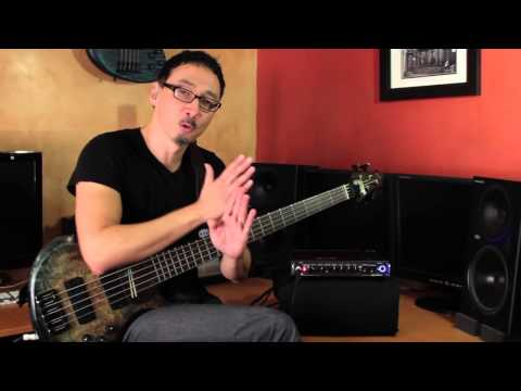 Gallien-Krueger MB Fusion 500 Demo by Norm Stockton