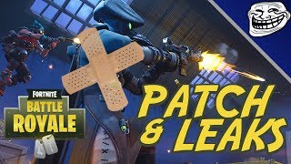 Fortnite Patch & Leaks: Air Strike, Week 10 Challenges, All Fortbyte Locations, Singularity Helmets