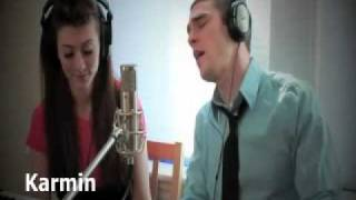 karmin covers - written in the stars (a slight remix)