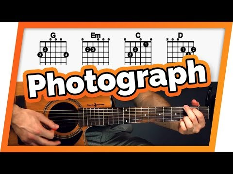 Photograph Guitar Tutorial (Ed Sheeran) Easy Chords Guitar Lesson