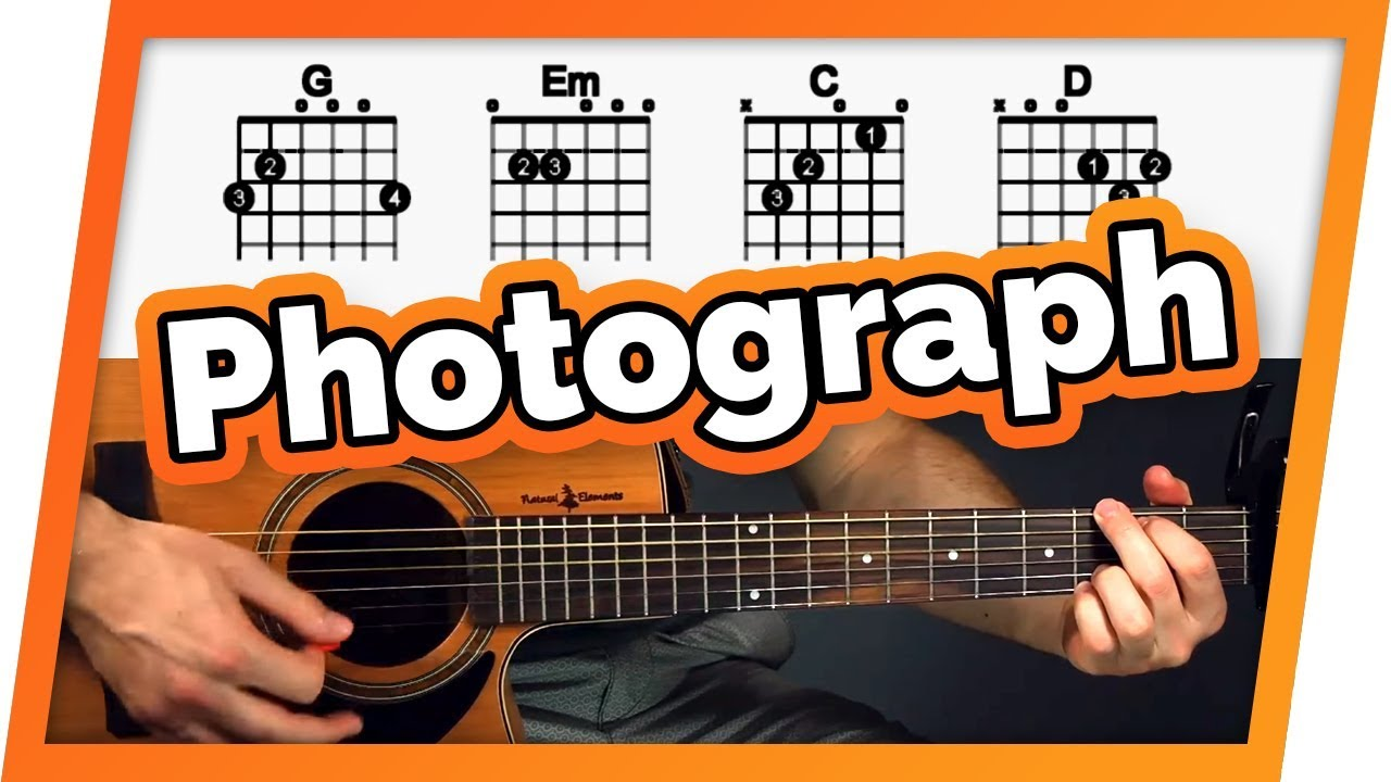 Photograph Guitar Tutorial Lesson  Easy Chords For Beginners  Really Learn Guitar