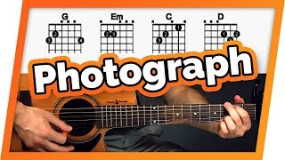 Baixar Photograph Guitar Tutorial (Ed Sheeran) Easy Chords Guitar Lesson