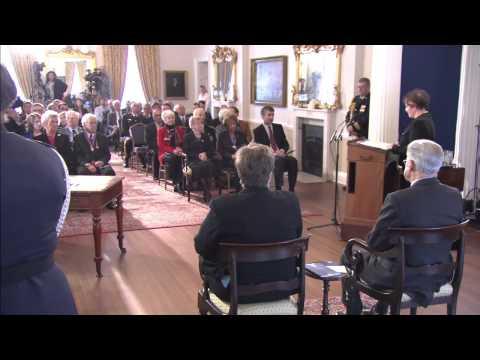 Order of Nova Scotia Ceremony