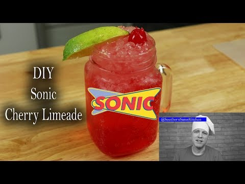 How To Make Sonic Cherry Limeade At Home
