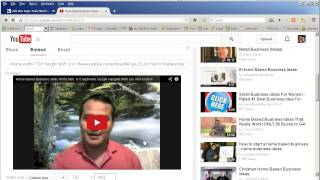 Example Of How To Embed A Google Hangout On A Wordpress Site