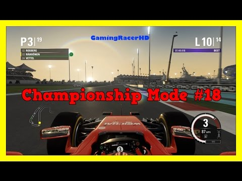 F1 2015 - Championship Mode (Kimi Raikkonen) Race #18 - Abu Dhabi Grand Prix [1080p HD 60FPS]