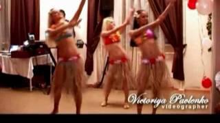 Шоу-балет Crystal. Гавайский танец