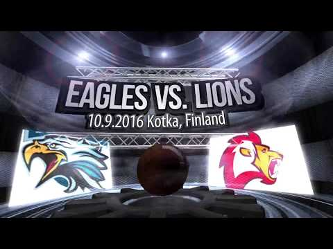 Baltic Sea League 2016, Eagles vs. Lions