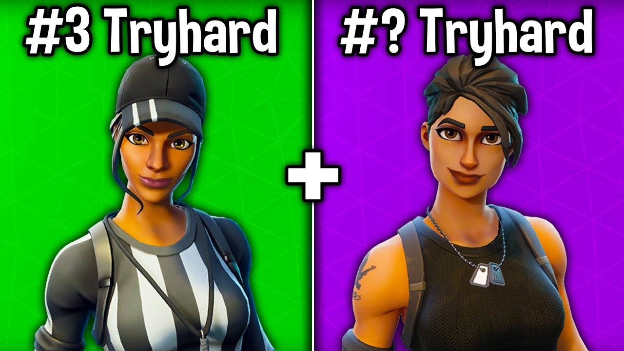7 more skins tryhards use in fortnite season 7 tryhard skins - most tryhard skins in fortnite season 8
