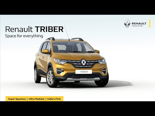 Renault TRIBER | Space For Everything