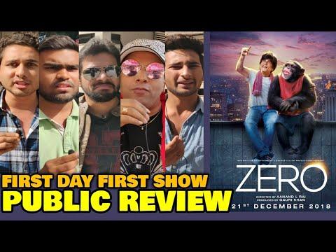 Zero Movie PUBLIC REVIEW | First Day First Show | Shahrukh Khan, Katrina Kaif, Anushka Sharma