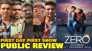 Zero Movie PUBLIC REVIEW | First Day First Show | Shahrukh Khan, Katrina Kaif, Anushka Sharma