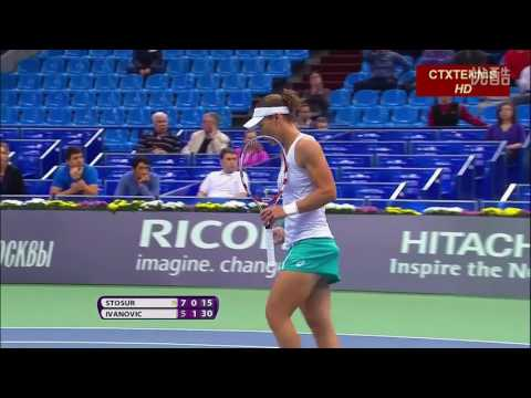 Ivanovic VS Stosur Highlight Moscow 2013