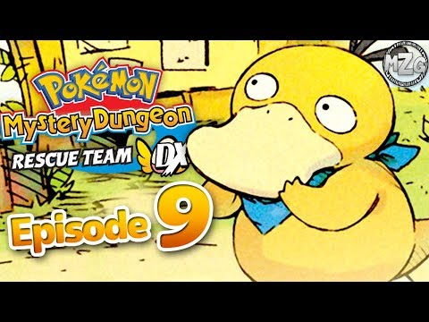 Pokemon Mystery Dungeon Rescue Team DX Gameplay Walkthrough Part 9 - Makuhita Dojo Training!