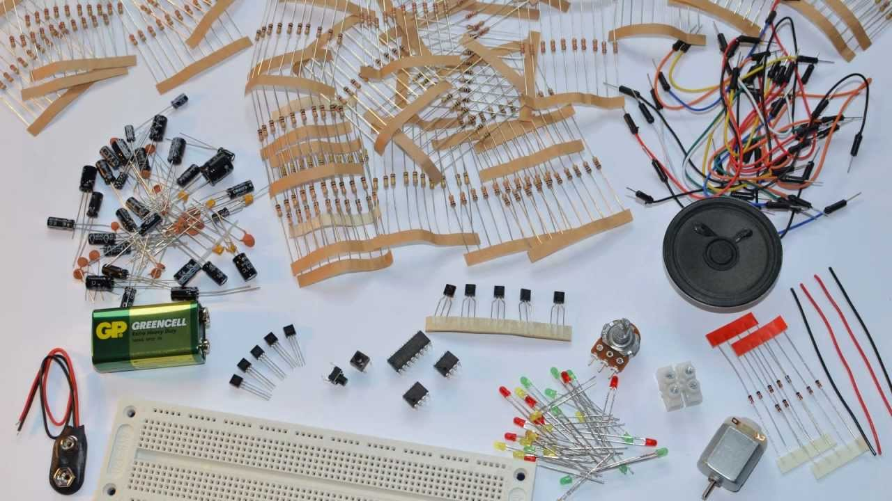 Electronics Starter Project Kit Youtube Circuit Kits For Beginners