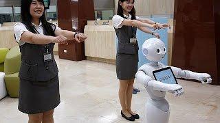 Taiwan: Humanoid-Roboter als Stimmungskanone bei Banken - economy
