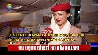 Bu uçak bileti 30 Bin Dolar!