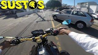 SUSTOS DE MOTO (EP. 28)