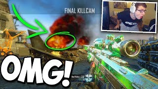 I HIT MY BEST TRICKSHOT EVER ON BO2!! (YOU WON'T BELIEVE WHERE HE WAS)