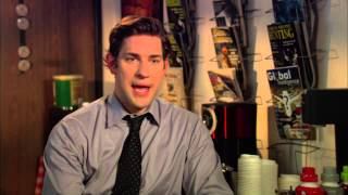 "John Krasinski ""The Office"" Season 9 Interview!"