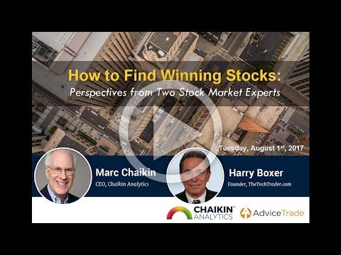 How to Find Winning Stocks: Perspectives from Two Stock Market Experts 8/1/17