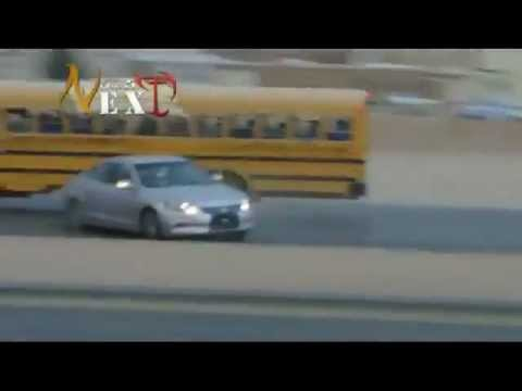 Crazy Arab Drifting with AK-47s