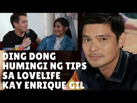 Dingdong Dantes Asked for Lovelife Advise from Enrique Gil!
