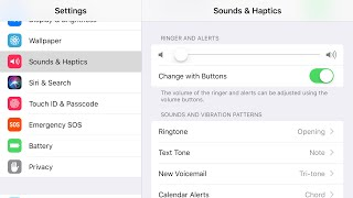 You press volume down and only your alerts changes but not ringer volume. here's how to fix!!