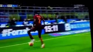 Ballo di Rudiger durante Inter-Roma