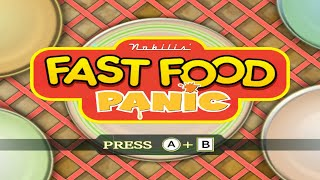 Fast Food Panic Wii Gameplay