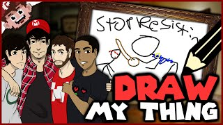 STOP RESISTING! (The Derp Crew: Draw My Thing - Part 1)