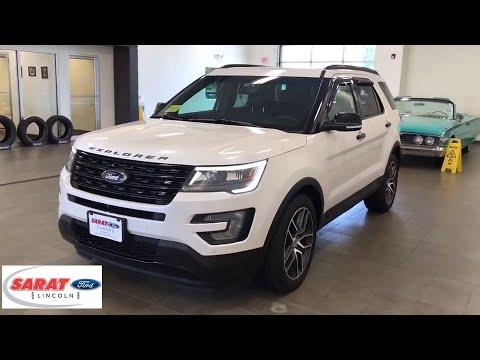 2016 Ford Explorer Westfield, Holyoke, West Springfield, Suffield, Agawam, MA Y1095A