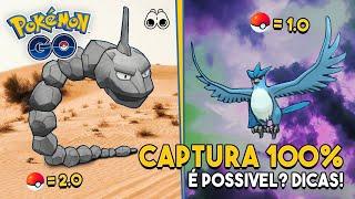 Mudança na TAXA DE CAPTURA do Pokémon GO explicada!