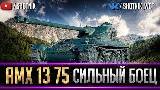 AMX 13 75 - СИЛЬНЫЙ БОЕЦ!