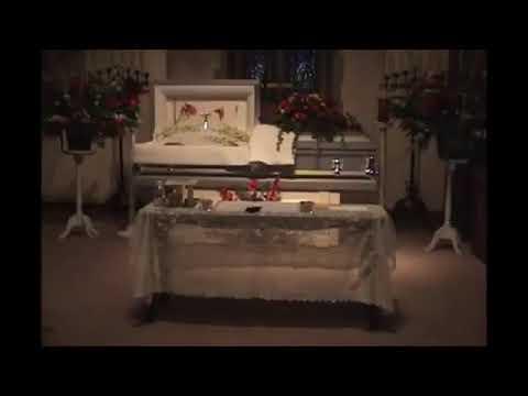 Sumbul Khan Funeral Service - Open Casket