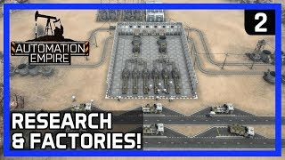 How To BUILD a PERFECT Starter FACTORY! - Automation Empire Gameplay Ep 2