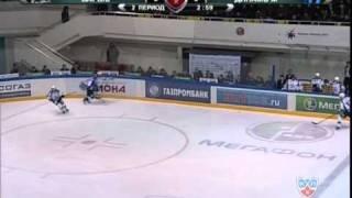 обзор матча Барыс - Динамо Москва 06.12.10