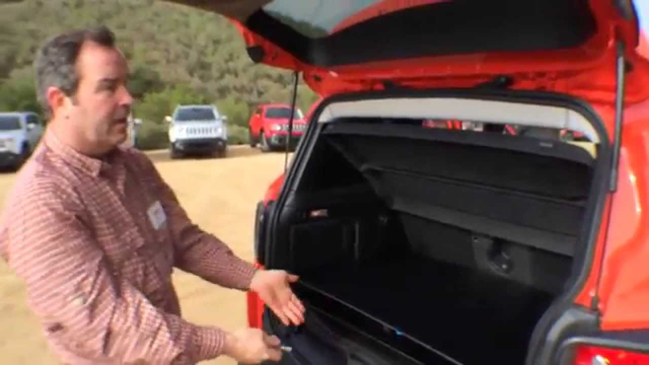 2015 jeep renegade media drive mysky roof demo - youtube