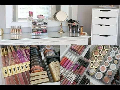 Makeup Collection Storage & Organization 2015