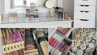 makeup collection storage organization 2015