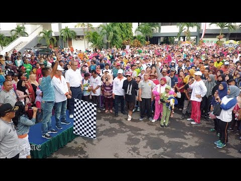 Jalan Sehat HUT KA Ke-72 Daop 8 Surabaya
