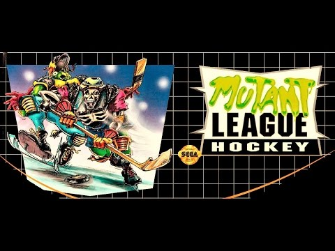 (EPISODE 1,400) RETRO GAMING: LET'S PLAY MUTANT LEAGUE HOCKEY PLAYOFFS SEGA (NES MINI) PIXEL PERFECT
