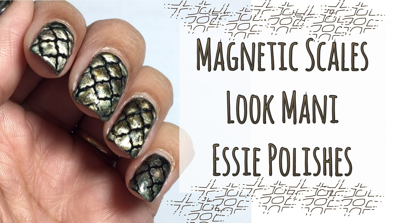 Magnetic Scales Look Mani || Essie - YouTube