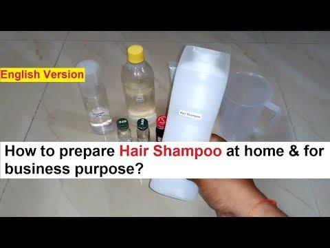 Hair Shampoo Making 100% Real Formula - YouTube