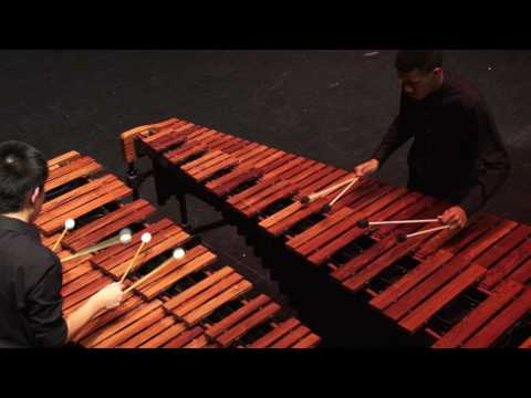 Catching Shadows Duo By Ivan Trevino- 2017 Westfield Percussion Ensemble
