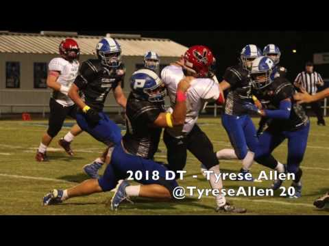 2018 DT Tyrese Allen(Paintsville High School)