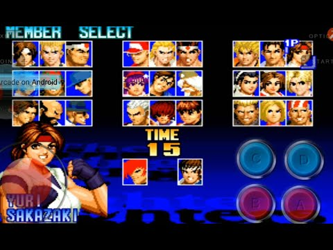 the-king-of-fighters-'97-mobile-long-gameplay-robert-team-ending+-download-link