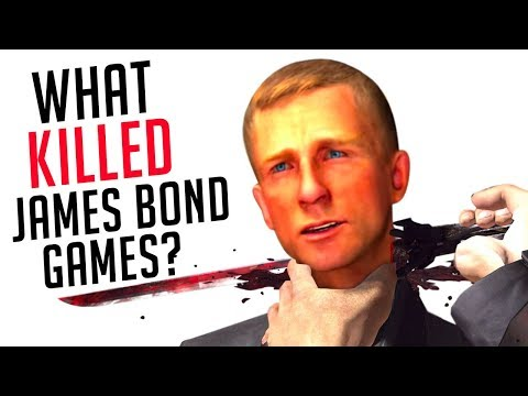 What Killed James Bond 007 Games?